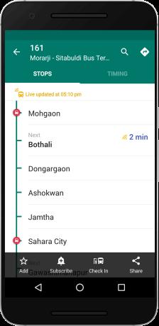 Nagpur-live-bus-timings
